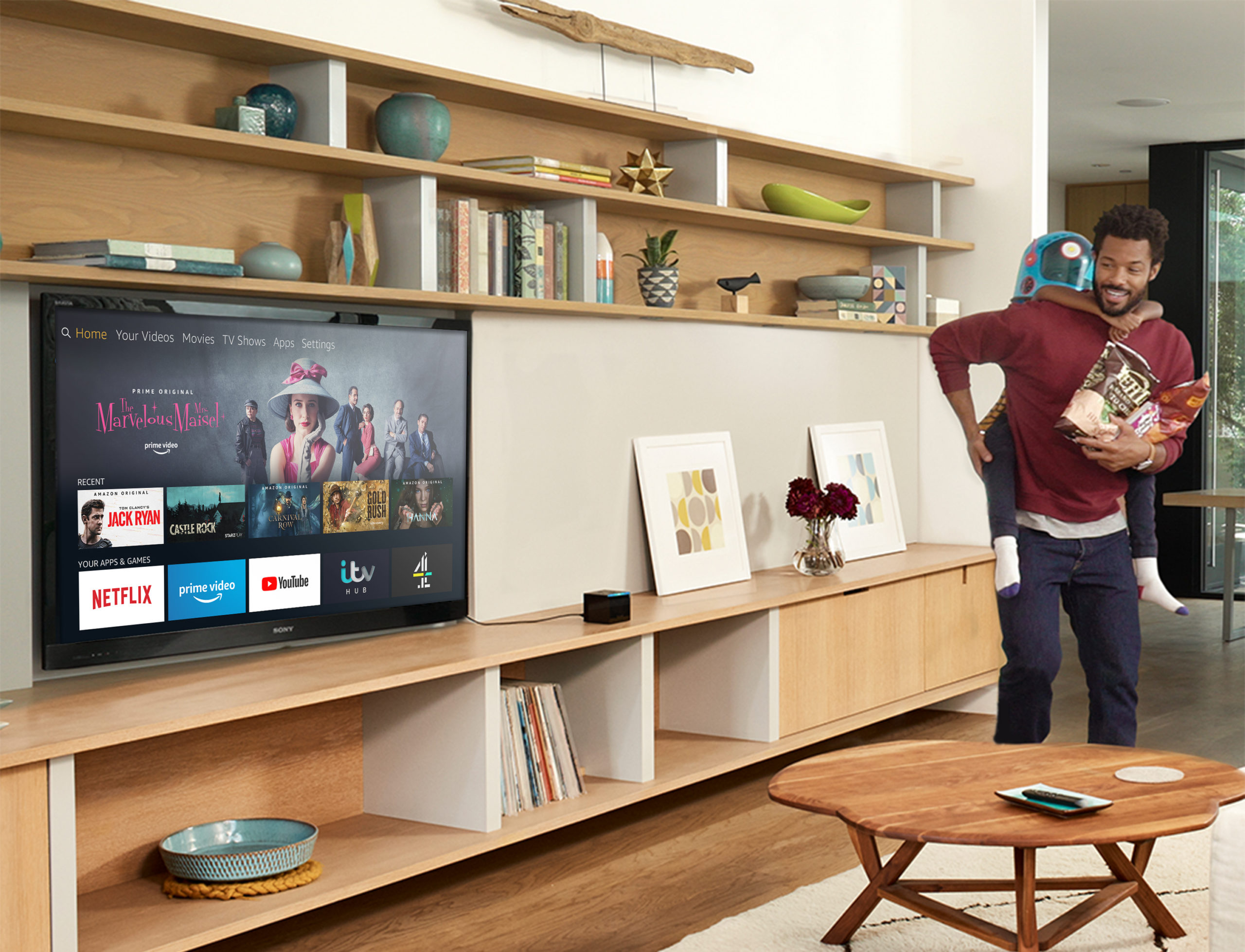 Fire TV Cube Living Room new scaled