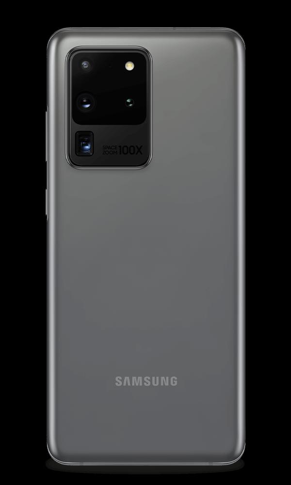 Samsung Galaxy S20 ultra 5G cosmic grey back