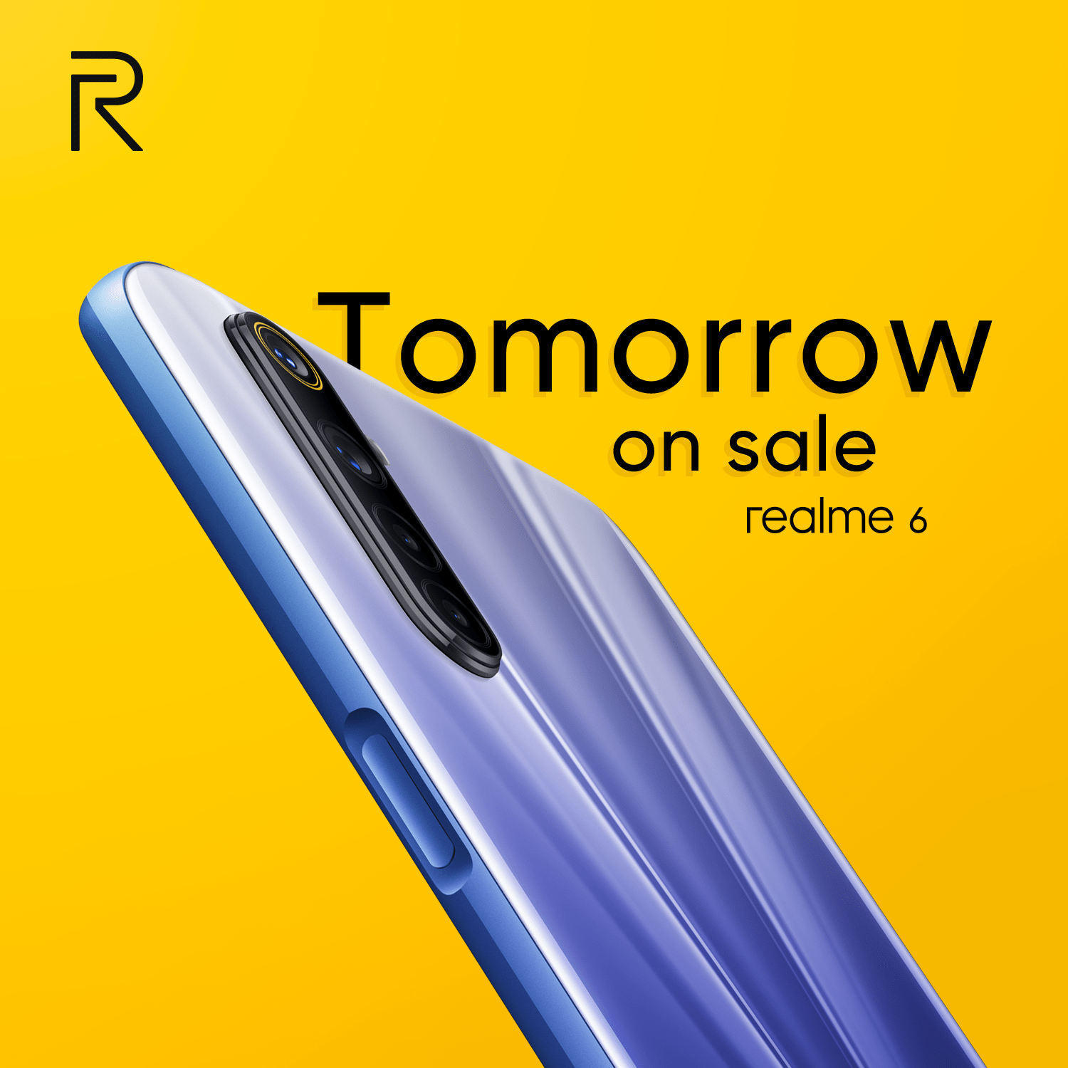 realme 6 will be available on 9th April