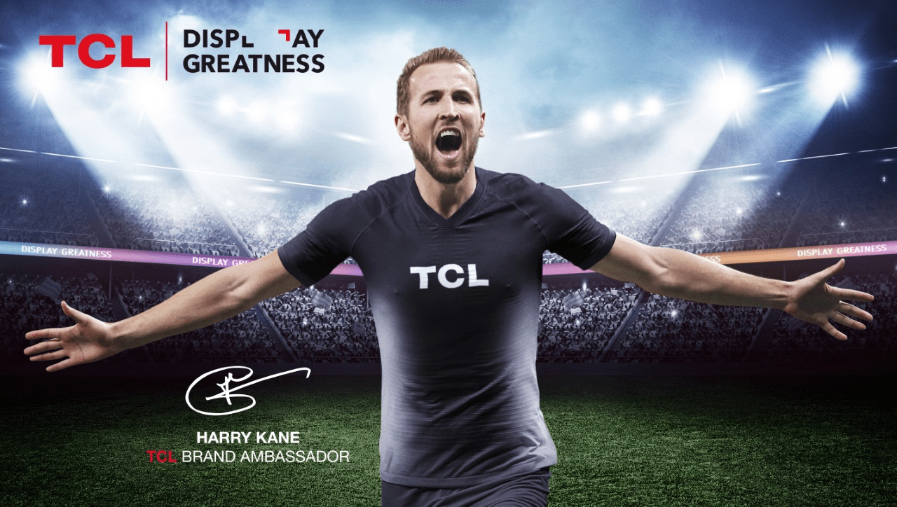 TCL partners up with Harry Kane as European brand ambassador 1