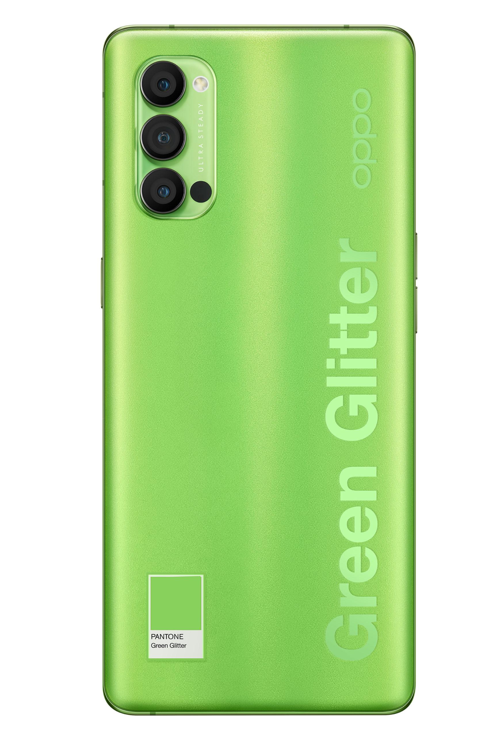 OPPO Reno4 Pro Green Glitter