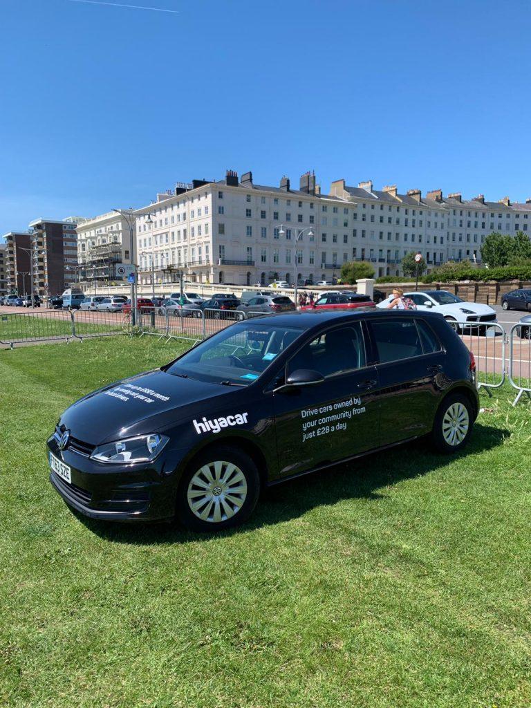 Hiyacar Brighton car sharing App, hiyacar launches in Brighton for peer-to-peer car sharing app