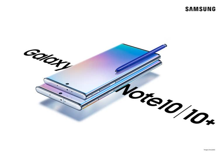 Samsung Galaxy Note 10 Note 10+ AMOLED, Samsung announces the Galaxy Note10 series