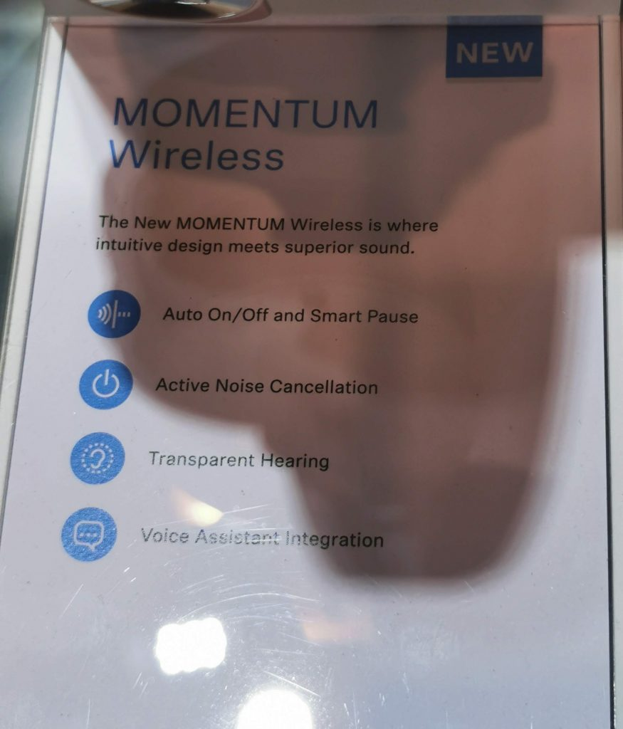 Sennheiser Momentum Wireless 3 IFA 2019 Bluetooth ANC, Sennheiser Momentum Wireless 3 the next level for ANC headphones
